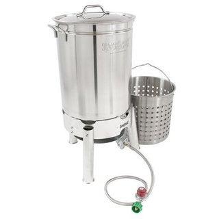 Link to Bayou Classic® KDS-144 - 44-qt Stainless Boil and Steam Kit Similar Items in Grills & Outdoor Cooking