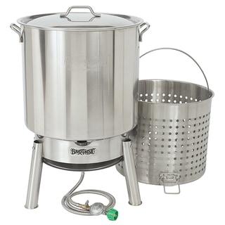 Stainless 82-quart Boiler Kit With 10 PSI Cooker
