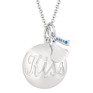 Hershey's Kisses Sterling Silver Women's 18-inch Charm Necklace