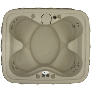 AquaRest AR-400P 4-person Spa with Ozone, Heater, 14 Jets, and LED Waterfall