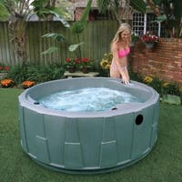 AquaRest Premium 200 5-P Spa with Ozn, Htr, 20 SS Jets, and LED Wtrfll