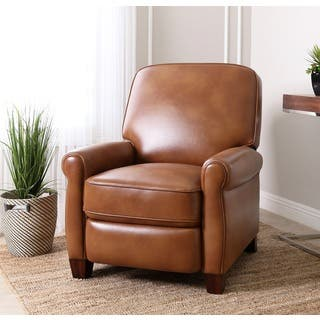 Abbyson Catalina Pushback ReclinerContemporary Living Room Chairs   Shop The Best Deals for Nov 2017  . Contempory Chairs. Home Design Ideas