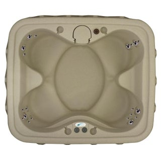 AquaRest Select 400 4-Person Spa with 20 SS Jets and LED Waterfall