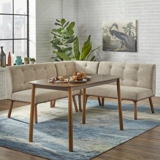 Simple Living 4 Piece Playmate Nook Dining Set (2 Options Available)