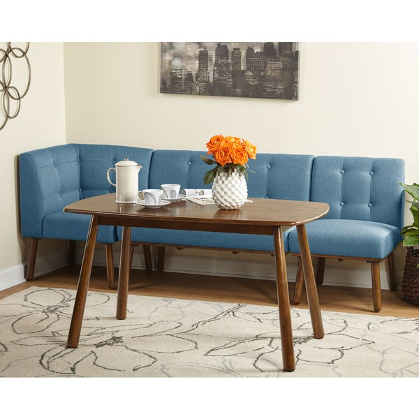 Wonderful Simple Living 4 Piece Playmate Nook Dining Set   Free Shipping Today    Overstock.com   20123257