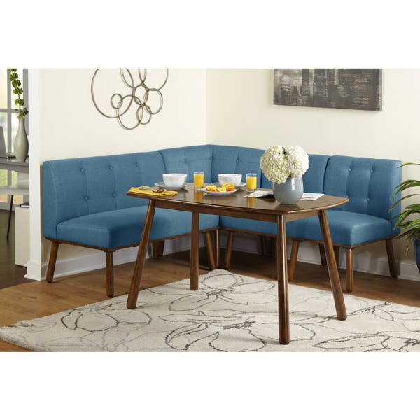 Charmant Simple Living 4 Piece Playmate Nook Dining Set