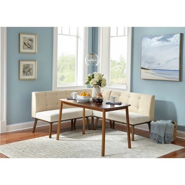 Simple Living 4 piece Playmate Nook Dining Set
