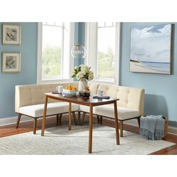 4 piece dining set small area simple living piece playmate nook dining set shop on sale free