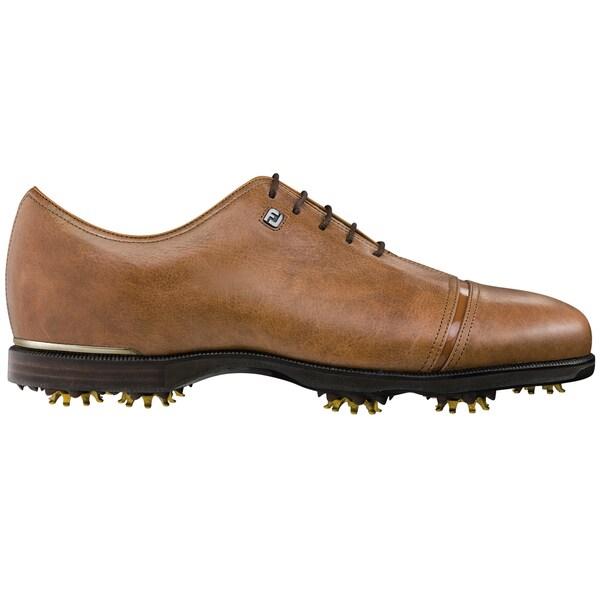 FootJoy Icon Black Golf Shoes 52075 Previous Season Style All Over Tan