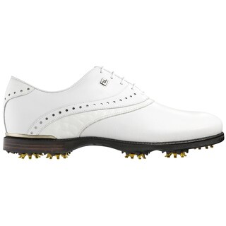 FootJoy Icon Black Golf Shoes Previous Season Style White Croc