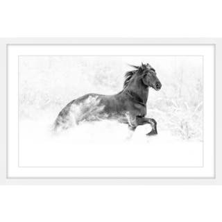 Marmont Hill - 'Horse Excitement' Framed Painting Print https://ak1.ostkcdn.com/images/products/13432435/P20124513.jpg?impolicy=medium