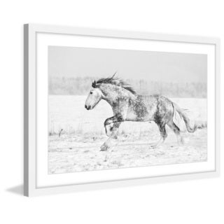 Marmont Hill - 'Galloping Joy' Framed Painting Print