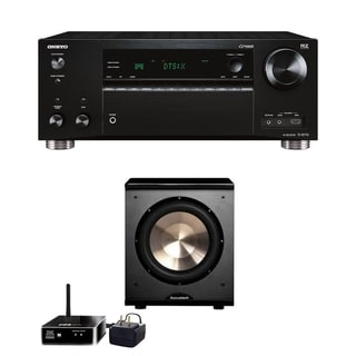 Bic Acoustech Wireless PL-200 With Onkyo TX-RZ710 7.2 Channel Network A/V Receiver
