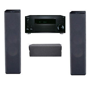 Premier Acoustic PA-6F Pair, PA-6C, with Onkyo TX-RZ810 7.2-channel Network A/V Receiver
