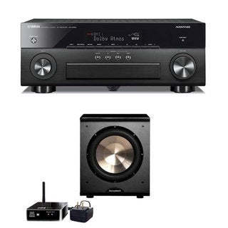 Bic Acoustech Wireless PL-200 with Yamaha Aventage RX-A860 Receiver