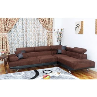 Whitley Modern Right-Facing Chaise Sectional Sofa
