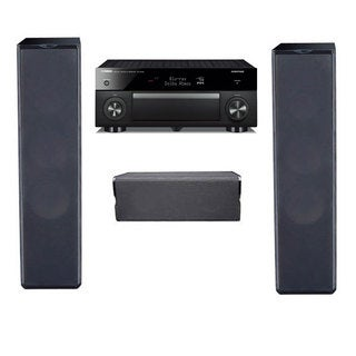 Premier Acoustic PA-6F and PA-6C Speakers with Yamaha Aventage RX-A1060 Receiver