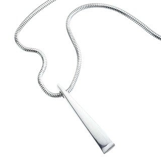 Ever One Sterling-silver Forged Medium Pendant