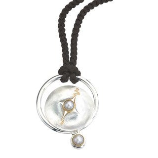 Ever One Silver Mother of Pearl Pendant