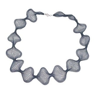 Ever One Teal Mesh 32-inch Necklace - Blue