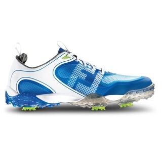 FootJoy Freestyle Golf Shoes white/Blue