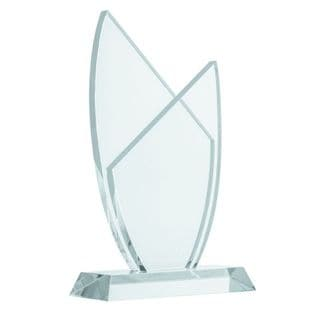 Benzara Crystal 6-inch-wide 10-inch-high Trophy