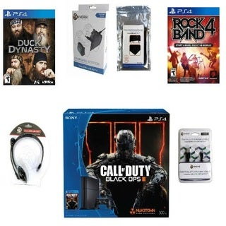 PS4 Call Of Duty Rock Band Holiday Bundle
