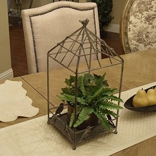 Ikee Design Vintage Metal Wire Plant Stand