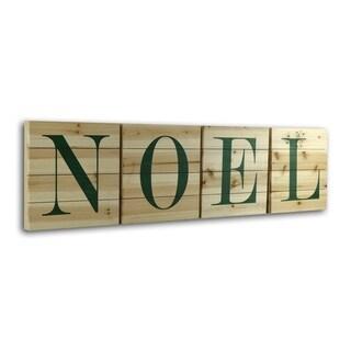 Gallery 57 'Noel' Wood Letters