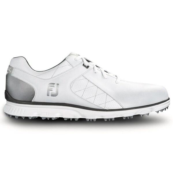 FootJoy Pro SL Golf Shoes  White/Silver