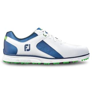 FootJoy Pro SL Golf Shoes White/Blue