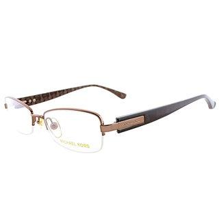 Michael Kors MK 361 239 Gold Metal Semi-Rimless Eyeglasses