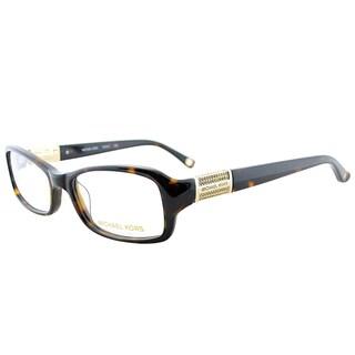 Michael Kors MK 834 206 Tortoise Plastic 52-millimeter Rectangle Eyeglasses