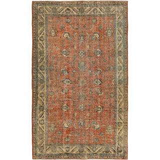 ecarpetgallery Hand-Knotted Anatolian Sunwash Brown Wool Rug (5'0 x 8'3)