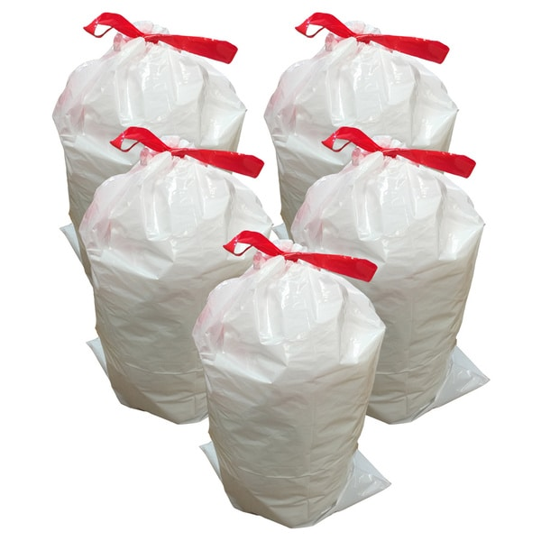 Shop 50pk Replacement Garbage Bags Fits Simplehuman Trash