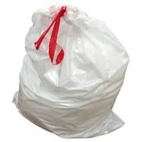 100pk Replacement Garbage Bags, Fits Simplehuman Trash Bins, 80L / 21.13 Gallon, Style-X