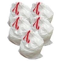 50pk Replacement Garbage Bags, Fits Simplehuman Trash Bins, 80L / 21.13 Gallon, Style-X