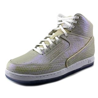 Nike Men's 'Air Python PRM' White Leather High-top Shoes