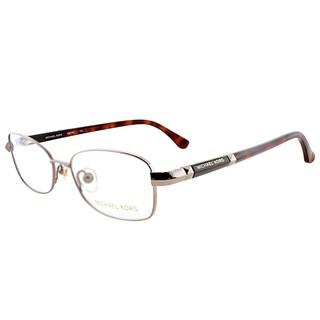 Michael Kors MK 360 780 Gold Metal 51mm Oval Eyeglasses