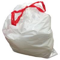 100pk Replacement Garbage Bags, Fits Simplehuman Trash Bins, 50-65L / 13-17 Gallon, Style-Q