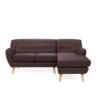Tufted L-shape Sectional Corner Sofa - MODA (3 options available)