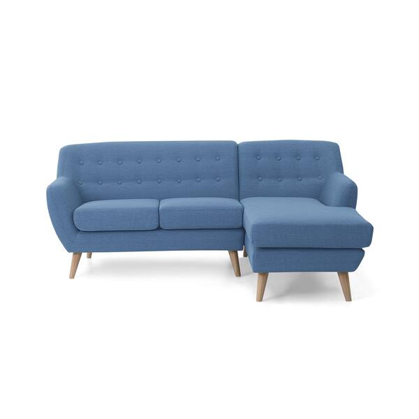 Shop Tufted L-shape Sectional Corner Sofa - MODA Nordic ...
