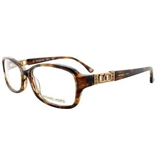 Michael Kors MK 217 226 Brown Horn Plastic 54mm Oval Eyeglasses