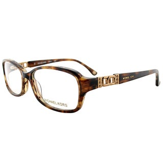 Michael Kors MK 217 226 Brown Horn Plastic 54mm Oval Eyeglasses