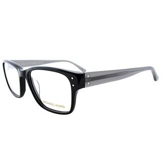 Michael Kors Black Plastic Rectangular Eyeglasses