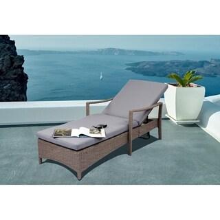Vasto Adjustable Wicker Lounge Chair