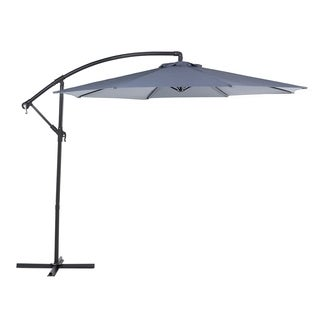 Cantilever Patio Umbrella - Side Post Umbrella - RAVENNA Dark Grey