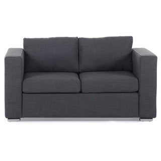 Fabric Upholstered Loveseat Sofa - HELSINKI