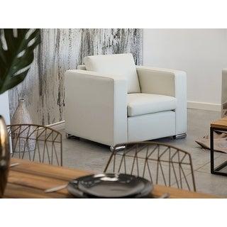 Genuine Leather Armchair - HELSING