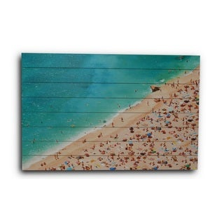 Gallery 57 'Busy Beach' Print